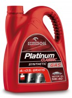 Platinum Classic Gas Synthetic 5W40 4L